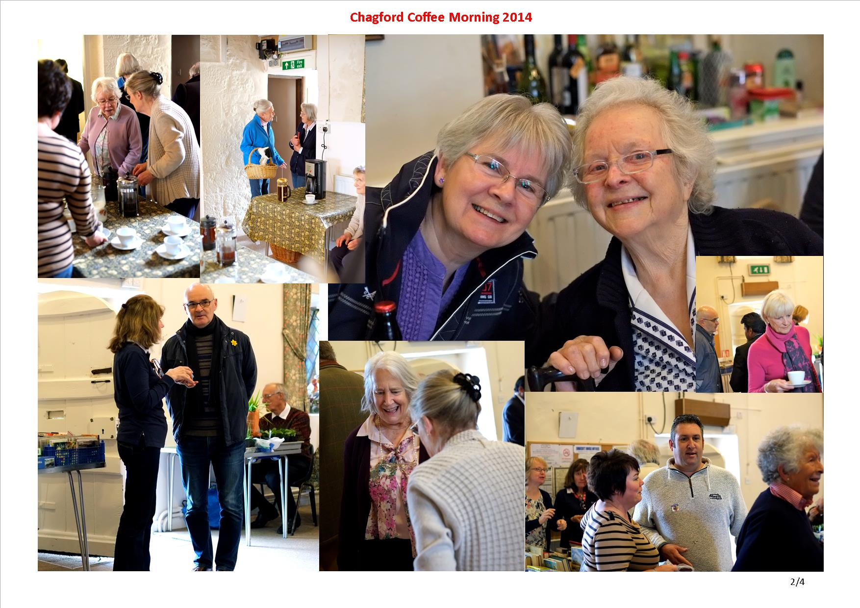 Chagford Coffee Morning 2014 02