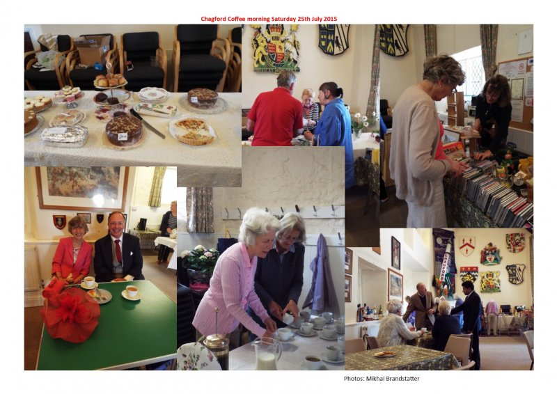 Chagford Coffee morning 25th July 2015