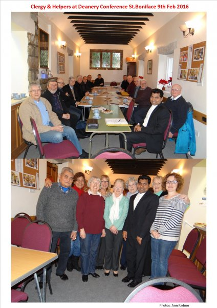 Clergy & Helpers at Deanery Conference 9th Feb 2016
