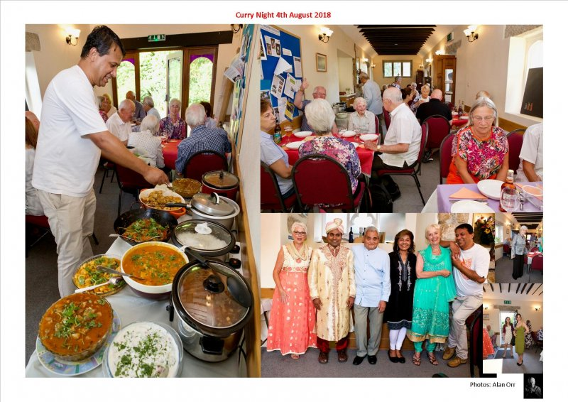 Curry Night 4th August 2018