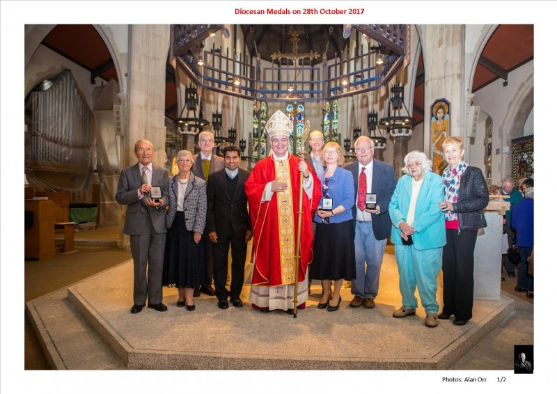 Diocesan Medals 28th Oct 2017