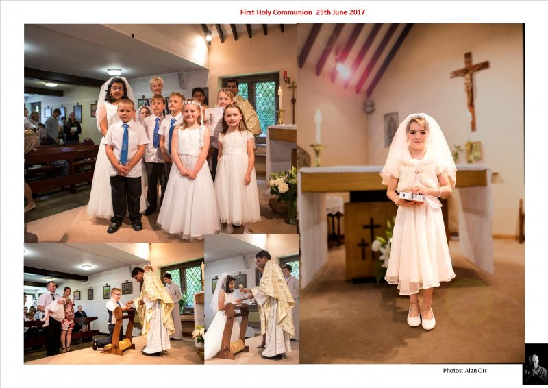 First Holy Communion 25th June 2017
