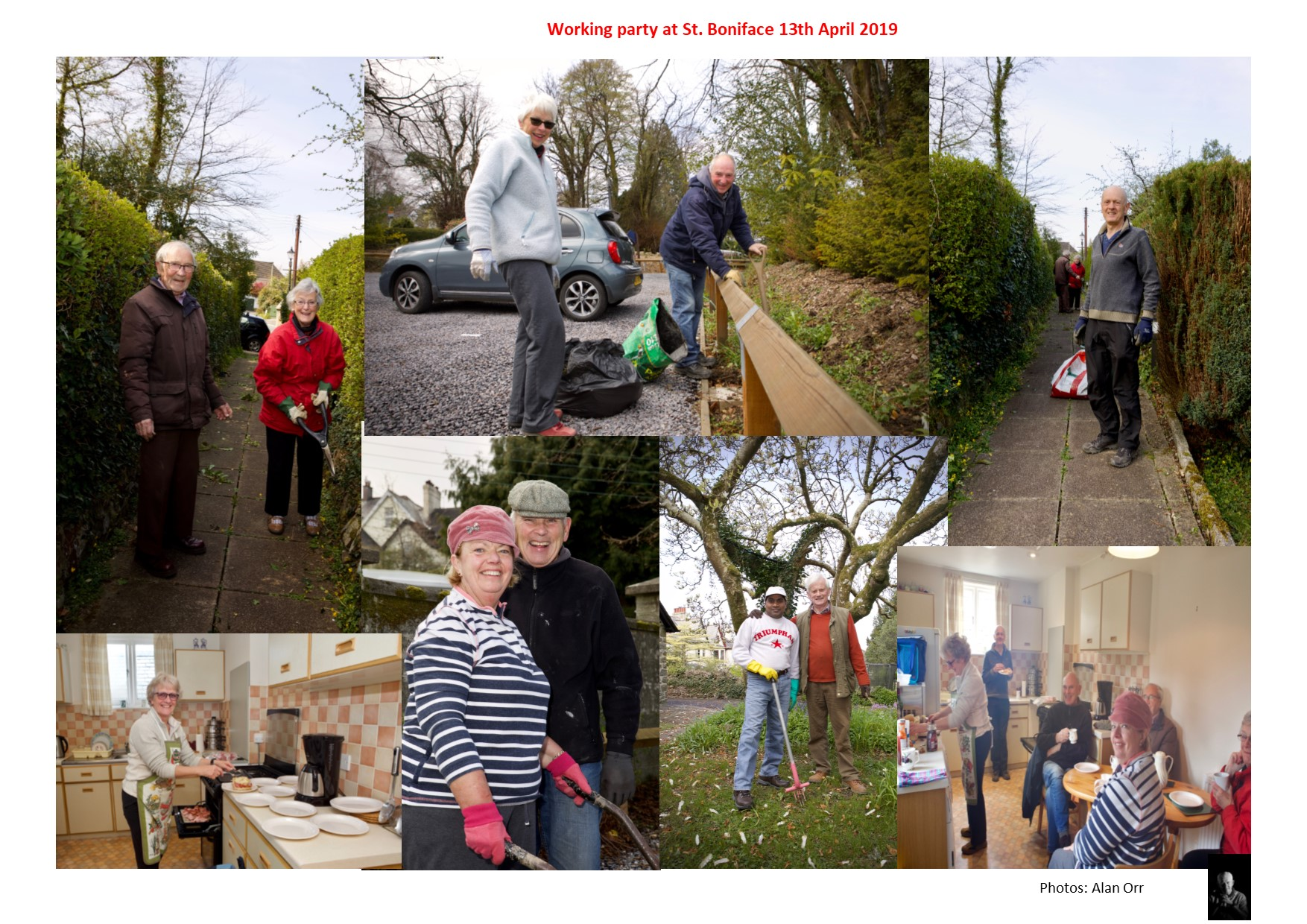 Working Party at St. Boniface 13th April 2019