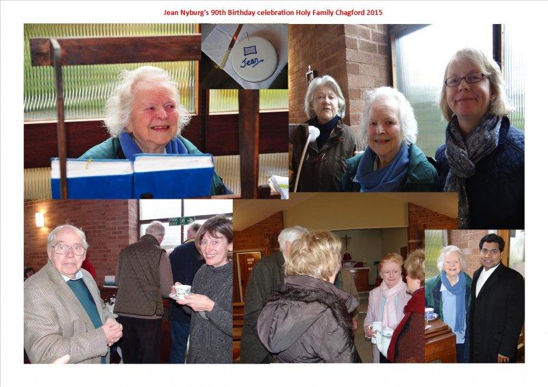 Jean Nyburg 90th Birthday 2015