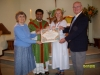 Papal Blessing imparted to Michael & Elizabeth Fitzpatrick on thier Golden Wedding Anniversary